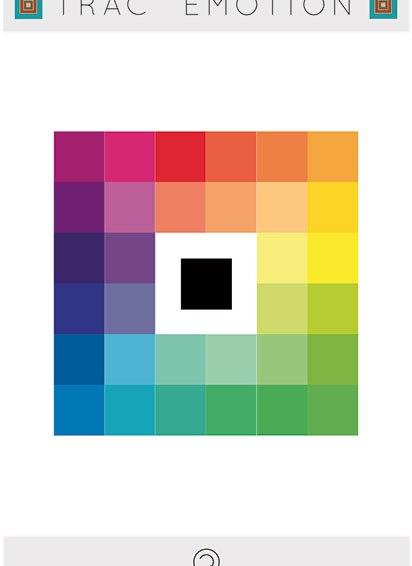Expérience : choix des couleurs en fonction des émotions de chacun